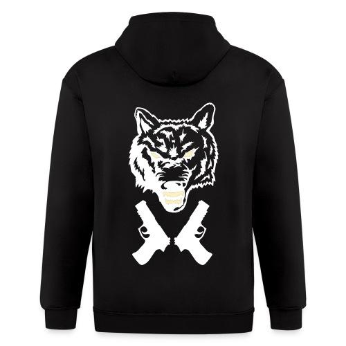 thunderwolfs hoodie - Men's Zip Hoodie