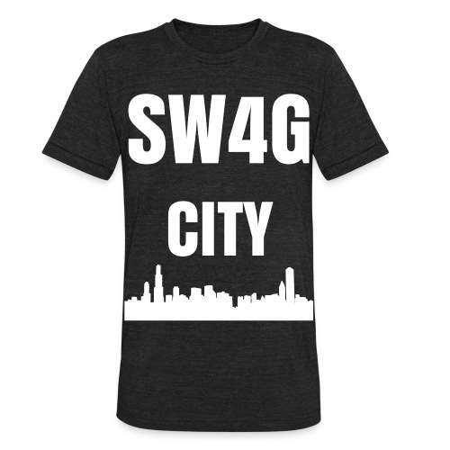 Swag city - Unisex Tri-Blend T-Shirt
