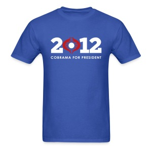 Cobr-ama For President 2012 - Men's T-Shirt