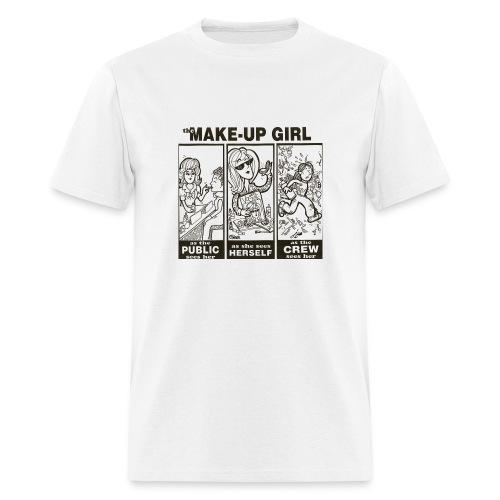 Make up girl - standard weight tee - Men's T-Shirt