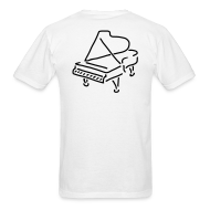 T-Shirts ~ Men's T-Shirt ~ Piano T-Shirt