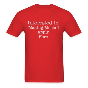 Interested in Making Music? - Men's T-Shirt