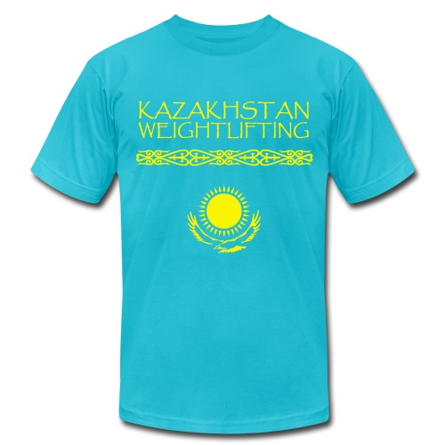 Kazakhstan Weightlifting - Men's Fine Jersey T-Shirt