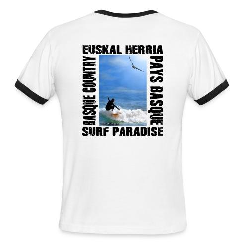 bird surf - Men's Ringer T-Shirt