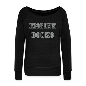 Women's Wideneck Engine Books Sweatshirt - Women's Wideneck Sweatshirt