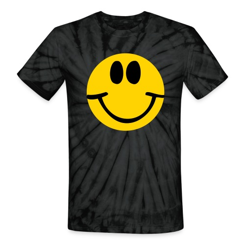Happy - Unisex Tie Dye T-Shirt