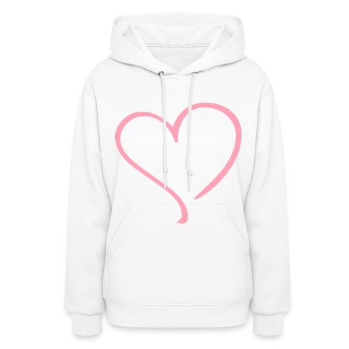 Heart Hoodie - Women's Hoodie