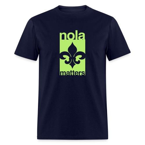 NOLA matters - Men's T-Shirt