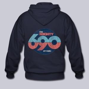 The Mighty 690am - Men's Zip Hoodie