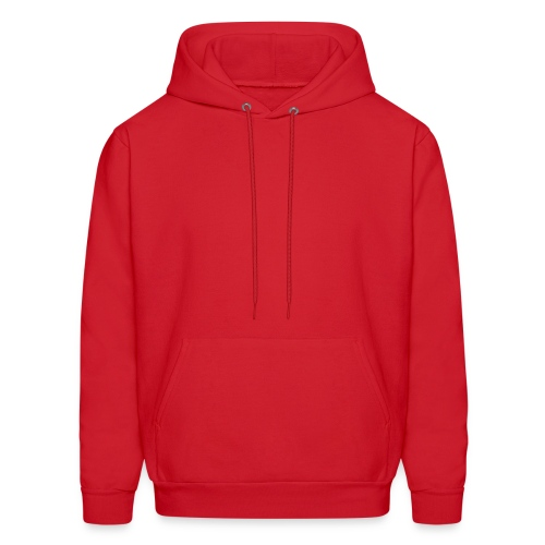 Plain Hooded Sweatshirt - Men's Hoodie
