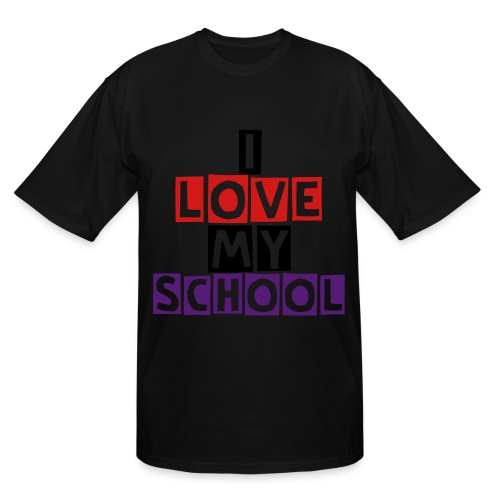 School are you kidding me? - Men's Tall T-Shirt