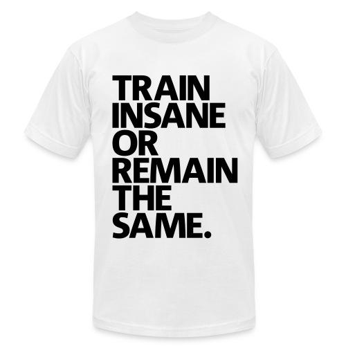Train Insane tee - Men's Fine Jersey T-Shirt