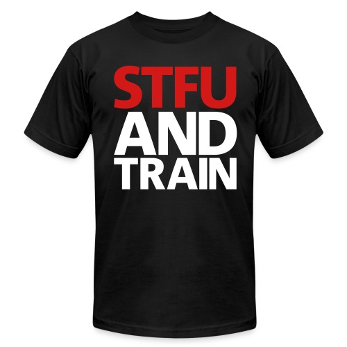 Train tee - Men's Fine Jersey T-Shirt