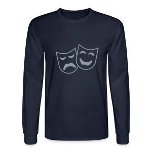 Theatre Arts  Design on mens longsleeve  shirt M.S.S. - Men's Long Sleeve T-Shirt