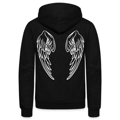 Angel - Unisex Fleece Zip Hoodie