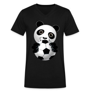 Soccer. It is THE game! - Men's V-Neck T-Shirt by Canvas