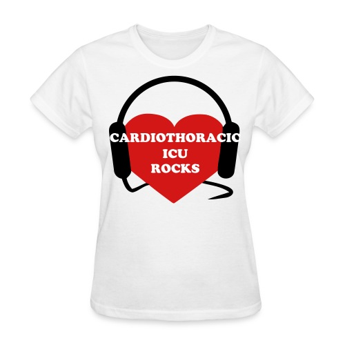 Cardio ICU Rocks - Women's T-Shirt