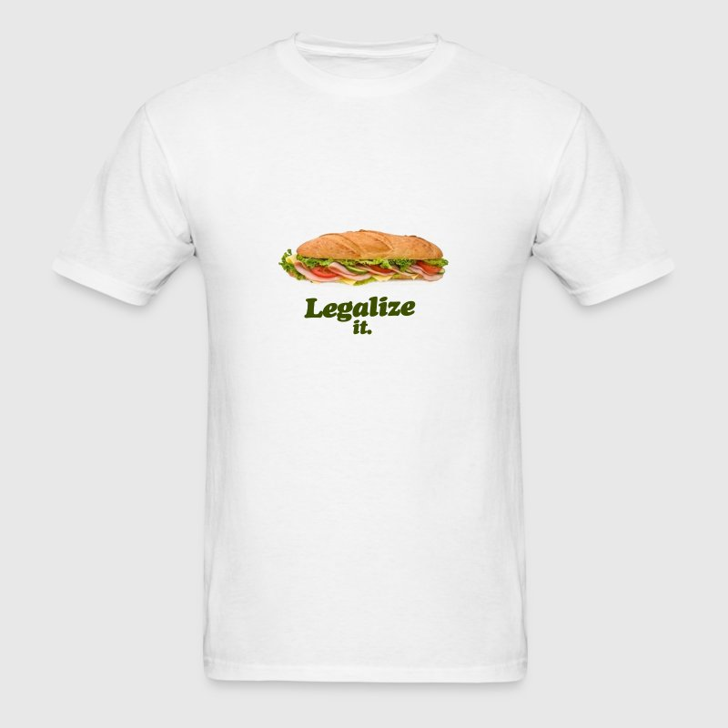 Legalize it Sandwich - Men's T-Shirt