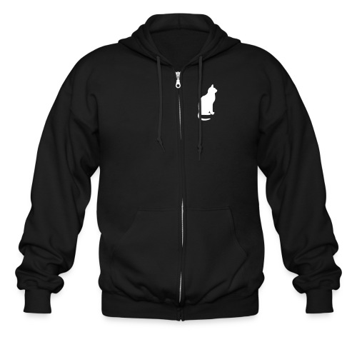 Cat Sweatshirt - Men's Zip Hoodie