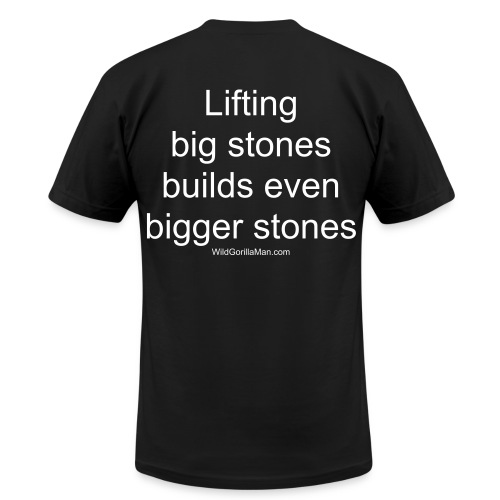 Mens SAVAGE Big Stones Tee - Men's Jersey T-Shirt