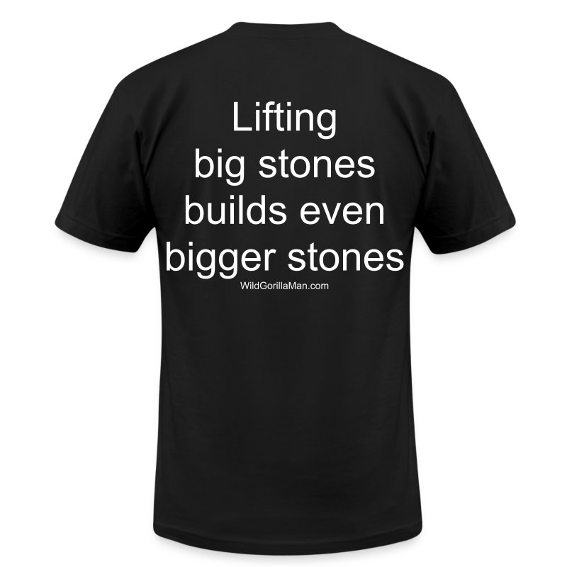 Mens SAVAGE Big Stones Tee - Men's T-Shirt by American Apparel