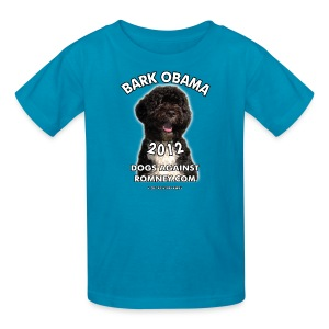 Official Dogs Against Romney Bark Obama 2012 Children's Tee - Kids' T-Shirt