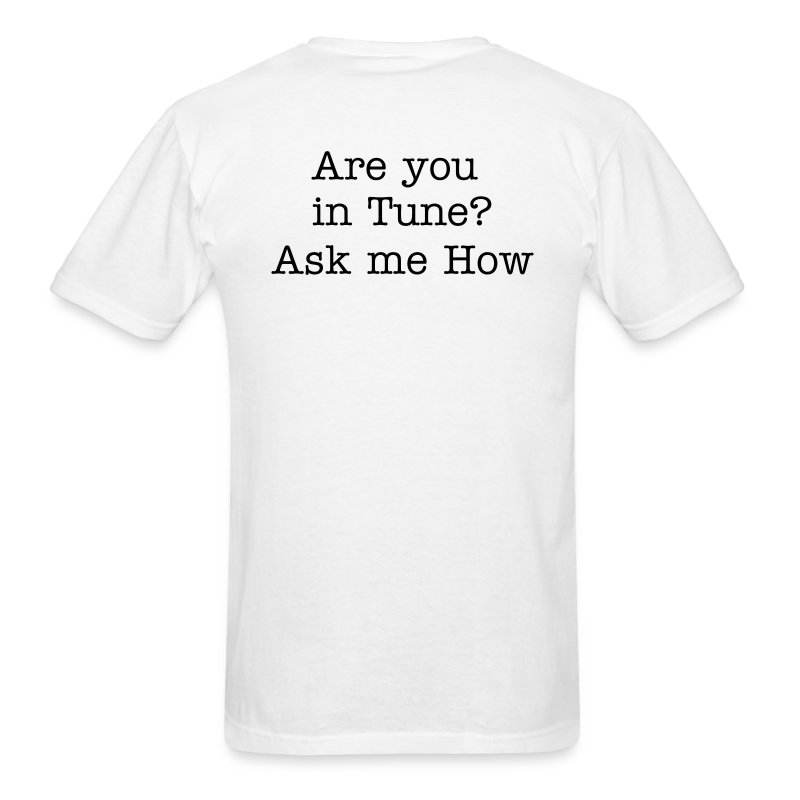 Are you in Tune? - Men's T-Shirt