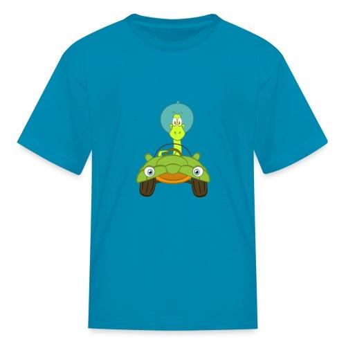Pepper car kids - Kids' T-Shirt