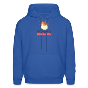 Chicken Is Burning Hoodie - Men's Hoodie