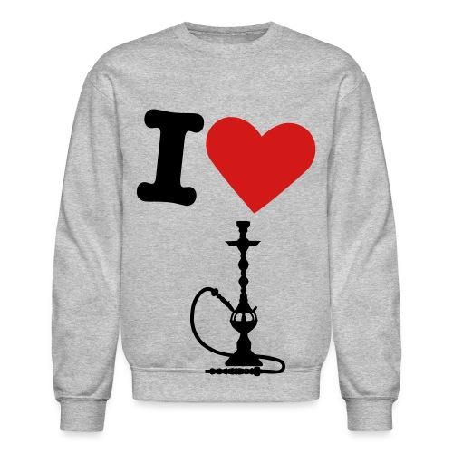 I Love shisha - Crewneck Sweatshirt