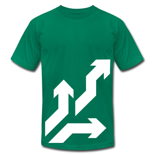 Directions - Men's T-Shirt by American Apparel