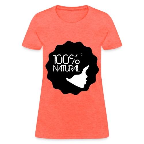 Women's TShirt- 100% Natural - Women's T-Shirt
