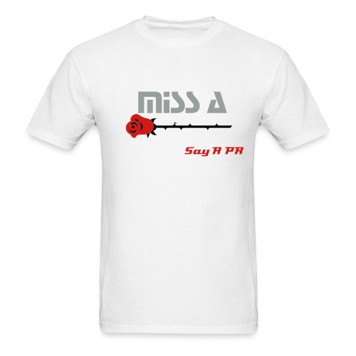 Miss A Say A PR Mens - Men's T-Shirt