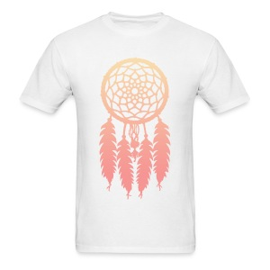 DIP DYE DREAMCATCHER - MENS TSHIRT - Men's T-Shirt