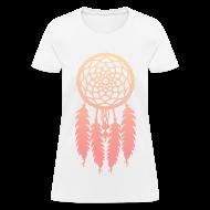 Women's T-Shirts ~ Women's T-Shirt ~ DIP DYE DREAMCATCHER - LADIES TSHIRT