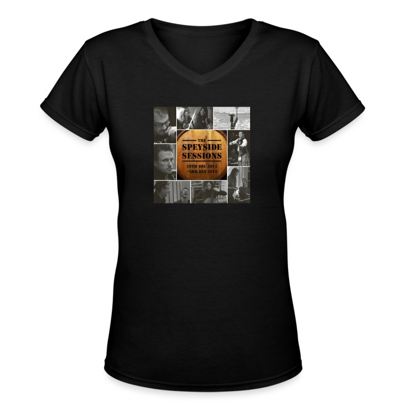 Women's Speyside Album Tshirt - Women's V-Neck T-Shirt