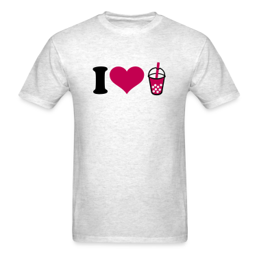 I love Bubble Tea T-Shirts