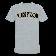 T-Shirts ~ Unisex Tri-Blend T-Shirt ~ Vanderbilt says Muck Fizzou - AA