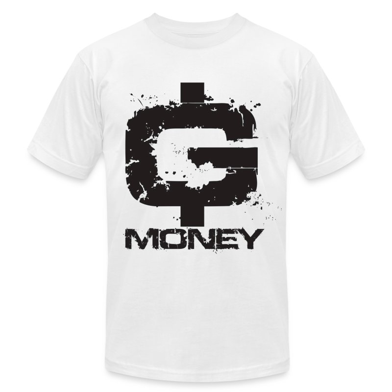 G money t shirt spreadshirt for How to make a shirt with money