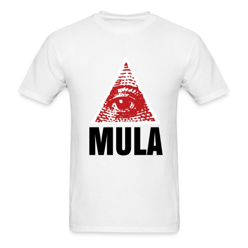 Eye Love MULA White/Red/Black - Men's T-Shirt