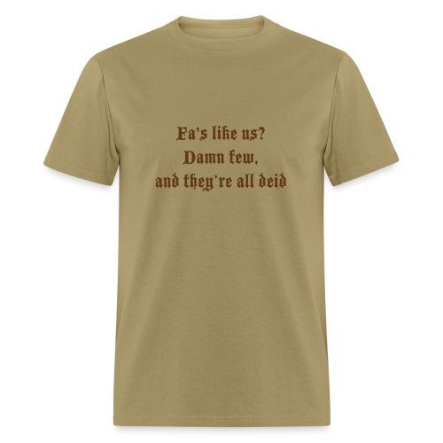 tshirtdesignspeysidesaying2 - Men's T-Shirt