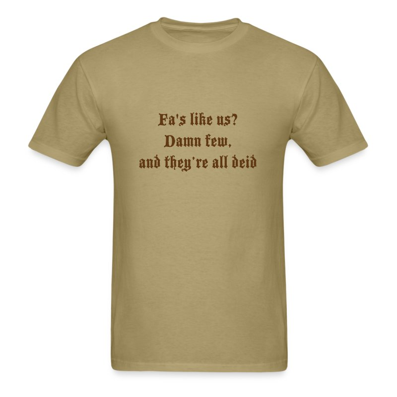 tshirtdesignspeysidesaying2 - Men's T-Shirt
