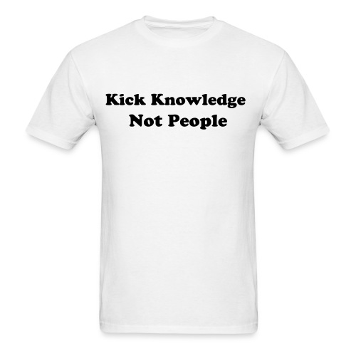Kick Knowledge - Men's T-Shirt