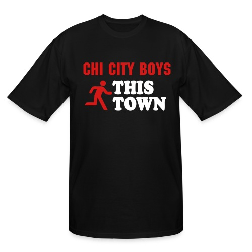Run This Town Tall Tee - Men's Tall T-Shirt
