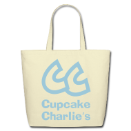 Bags & backpacks ~ Eco-Friendly Cotton Tote ~ CC Cupcake Charlie's Tote Bag