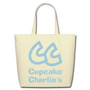 CC Cupcake Charlie's Tote Bag - Eco-Friendly Cotton Tote