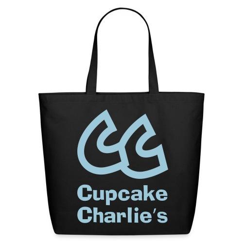 CC Cupcake Charlie's Tote Bag - Eco-Friendly Cotton Tote