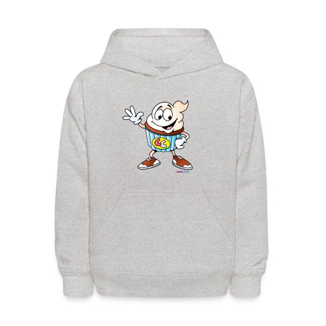 Cupcake Charlie Kids Hooded Sweatshirt