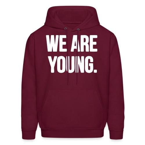 We Are Young/Carpe Diem Hoodie - Men's Hoodie