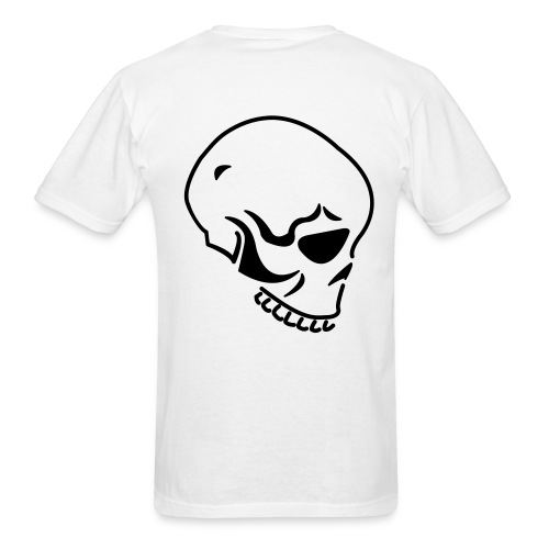 Skull Cotton Tee - Men's T-Shirt
